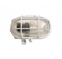 APLIQUE OVAL 60W. BLANCO
