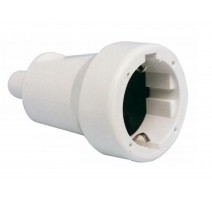 PACK 5 - BASE AEREA T/T PVC 16A. BLANCO