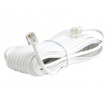 PACK 10 - PROLONGADOR CABLE RECTO 2,10mts.MACHO-MACHO 4V.