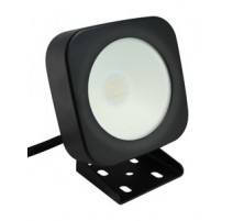 FOCO LED MINI, 10 W.LUZ FRÍA. MATERIAL DE ALUMINIO, IP65 COLOR NEGRO