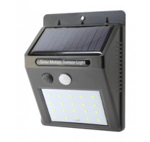 MINI APLIQUE SOLAR LED RECARGABLE DE PARED.