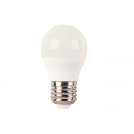 LAMPARA ESFERICA LED ECO E27 6W 4000K 160º 230V