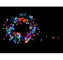 GUIRNALDA 100 BOMBILLAS LED DE INTERIOR - MULTICOLOR 9.2W - LONGUITUD 10.5m