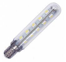 LÁMPARA TUBULAR LED E14 3W 3000°K 250LM 360° 18X95MM