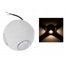 APLIQUE LED PARED IP54 4X3W 3000K